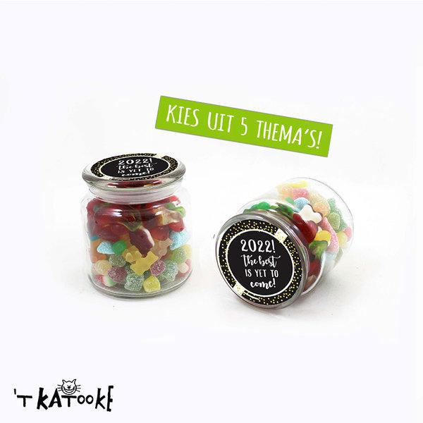 Feestpakket 08 - snoeppot - Kies jouw thema