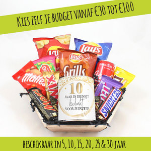 Snoeppakket-jubileum